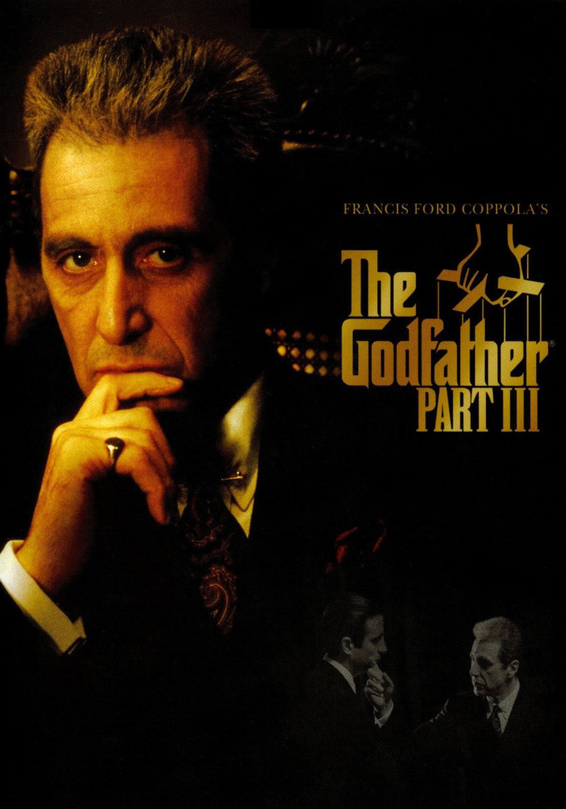 Image result for the godfather 3 poster